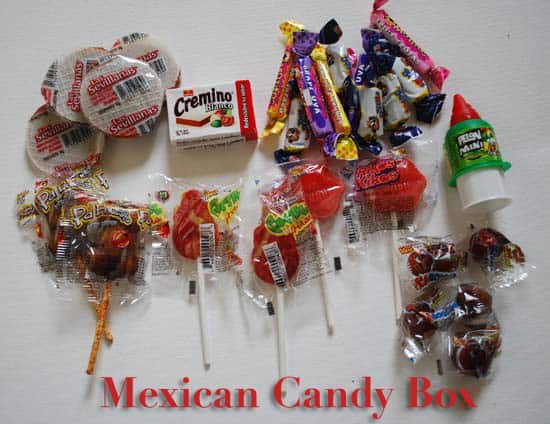 Mexican Candy Subscription Box