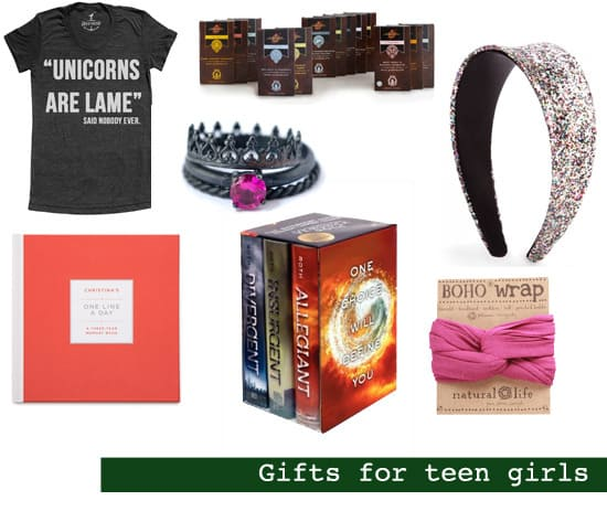 2013 Holiday Gift Guide: Gifts for Teen Girls
