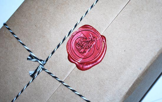 Cococlectic Wax Stamp