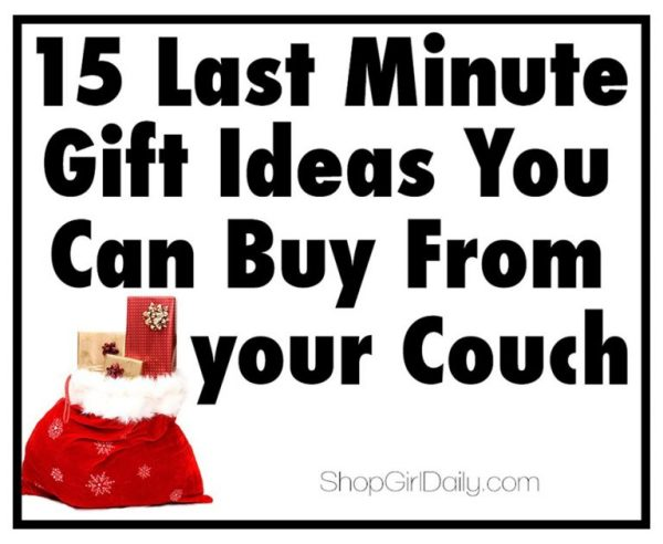 15 Last Minute Gift Ideas You Can Buy from your Couch   ShopGirlDaily.com