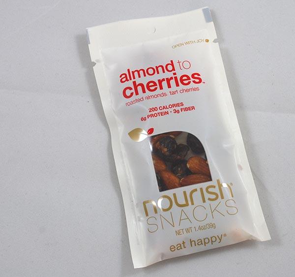 Nourish Snacks Almonds to Cherries