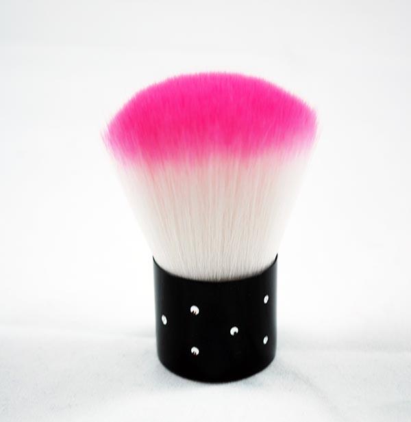 Ferro Cosmetics Pink Rhinestone Kabuki Brush
