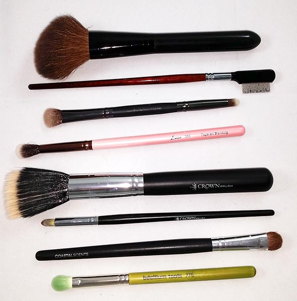 Favorite Makeup Products - Brushes