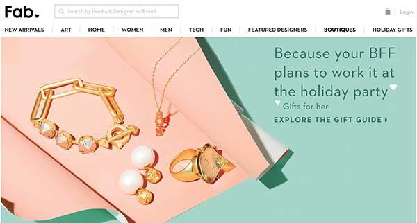 13 Unique Online Stores: Fab.com