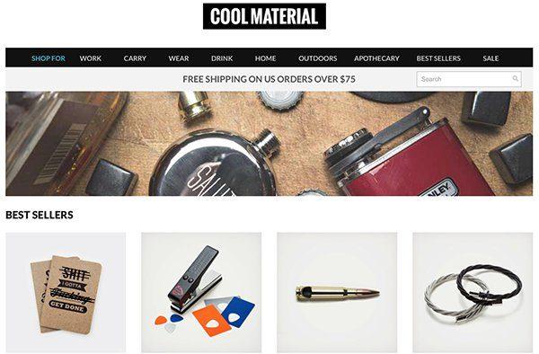 13 Unique Stores: Cool Material
