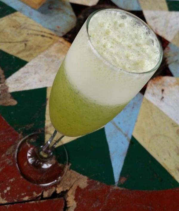Pineapple and Mint Juice from El Silencio Lodge & Spa
