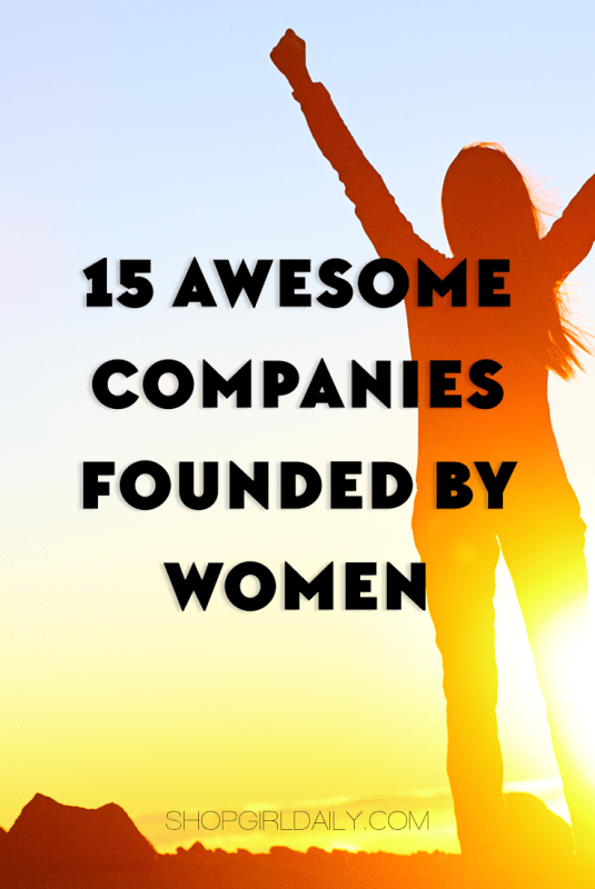 15 awesome companies founded ny women | ShopGirlDaily.com