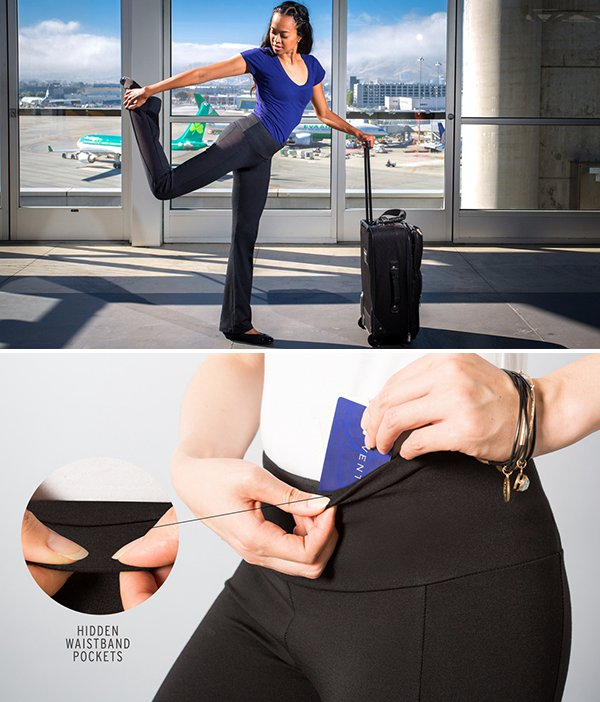 Travel Yoga Pants from Betabrand