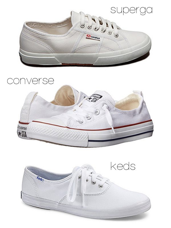 Summer Trends: Little White Sneakers