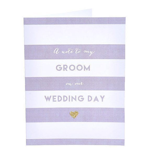 Wedding Day Grooms Card