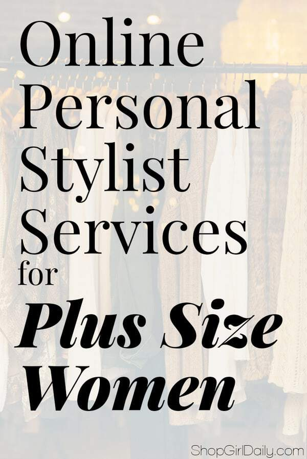Online personal stylist services for plus size women, featuring Wantable, DIA & CO., Gwynnie Bee and Rent the Runway | ShopGirlDaily.com