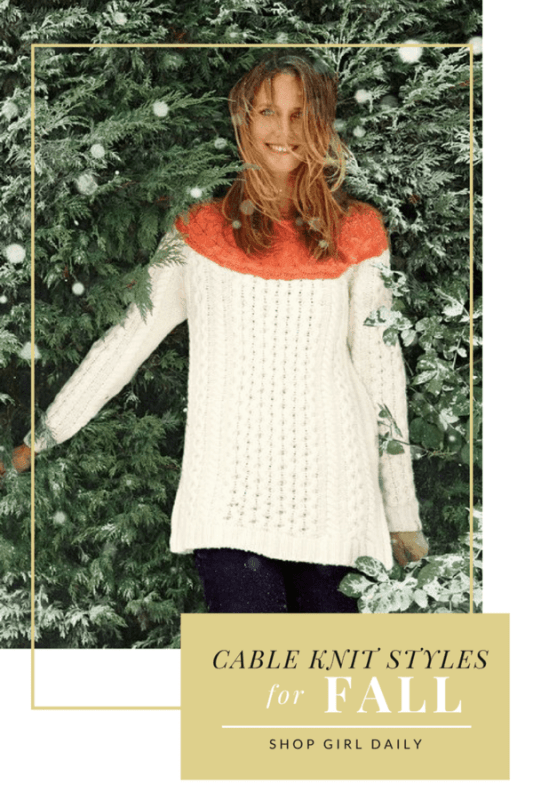 Cozy Cable Knit Styles for Fall