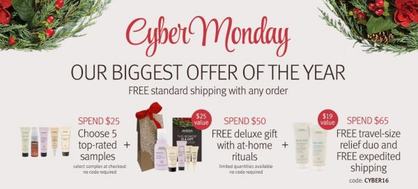 Aveda Cyber Monday Sale