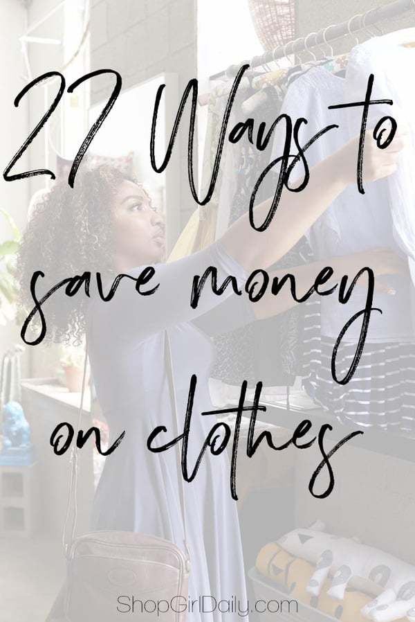 Whether you're a fashionista who wants the latest trends or a mom who is trying to keep her family clothed, here are a few ways to save money on clothes.