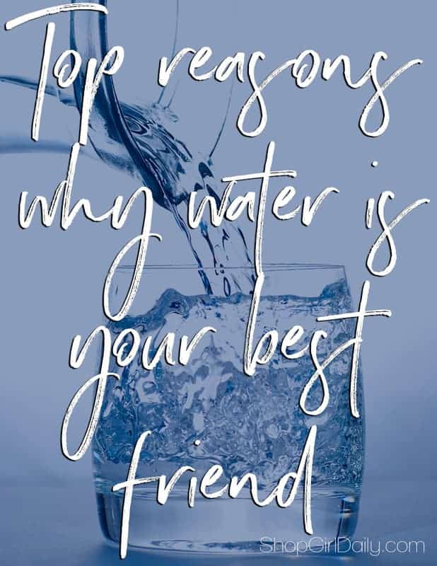 Stay hydrated this summer! Here are some top reasons why water is your best friend. | ShopGirlDaily.com
