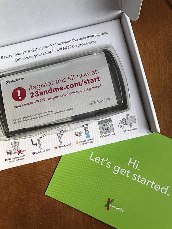 23andMe Genetic Testing Kit