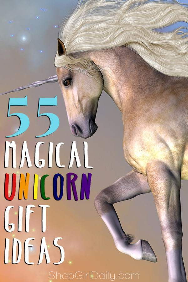 Here are 55 magical unicorn gift ideas that are perfect for your favorite unicorn lover.