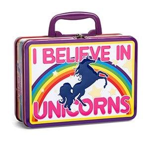 I Believe in Unicorns Lunch Box
