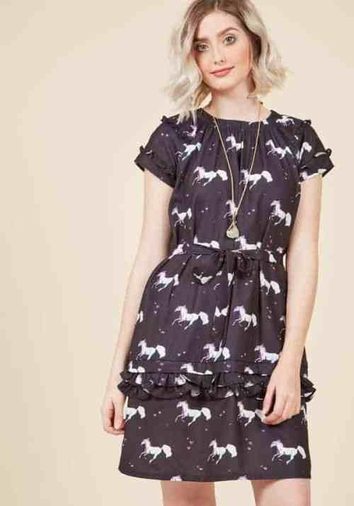 Not one to myth shift unicorn dress