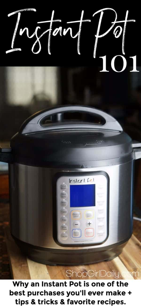 Whether you like cooking or not, an Instant Pot is a kitchen tool that you need to add to your kitchen. It's a cooking game-changer!