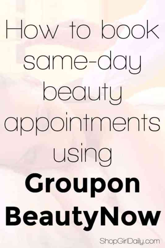 Book same day beauty appointments with Groupon BeautyNow