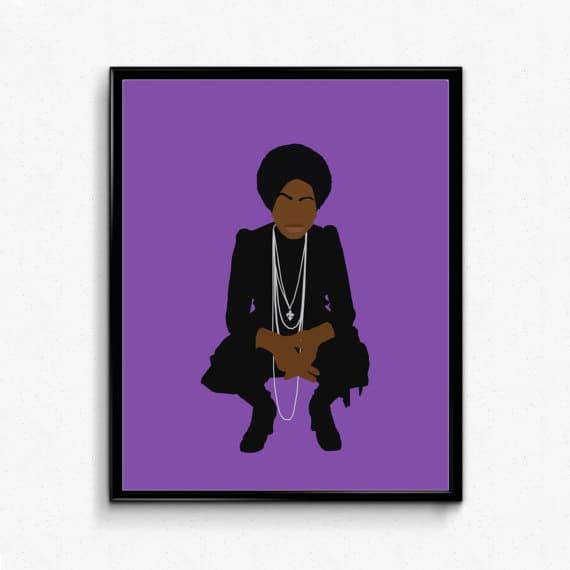 Nina Simone Poster from The Film Artist