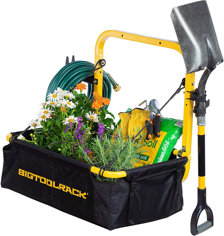 universal lawn mower atv big tool rack yardrack btr ydrk