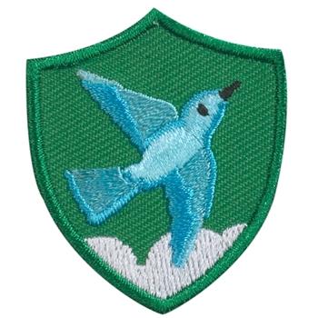 Bluebird Troop Crest
