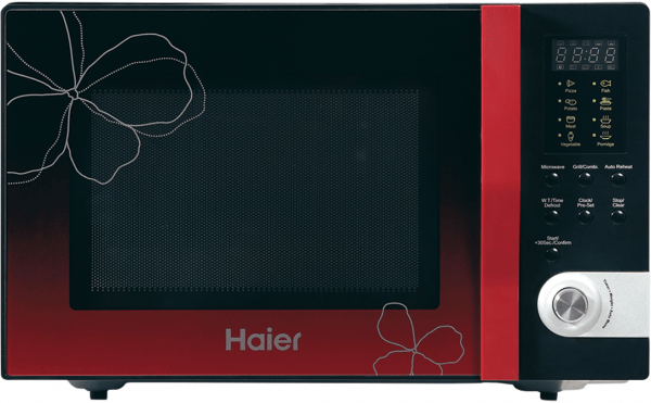haier hgn 32100egb red ribbon series microwave oven