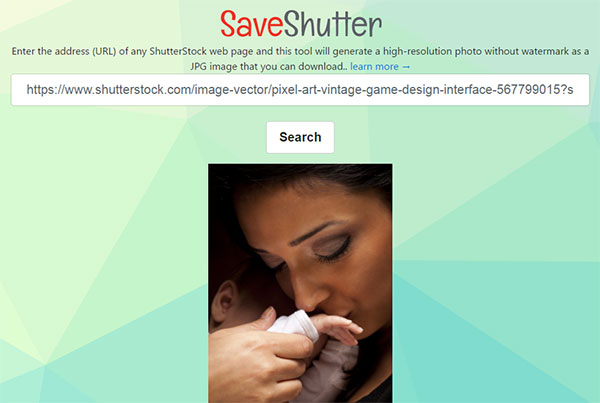 how to download images from shutterstock without watermark for free