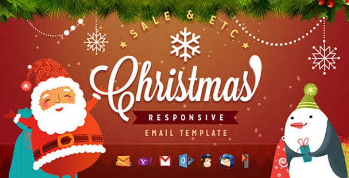 Top 10 Christmas Email Template To Design For Your Ecommerce Site