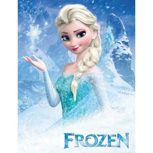 Frozen Elsa Anna Olaf T Shirt Iron On Transfer Decal 76