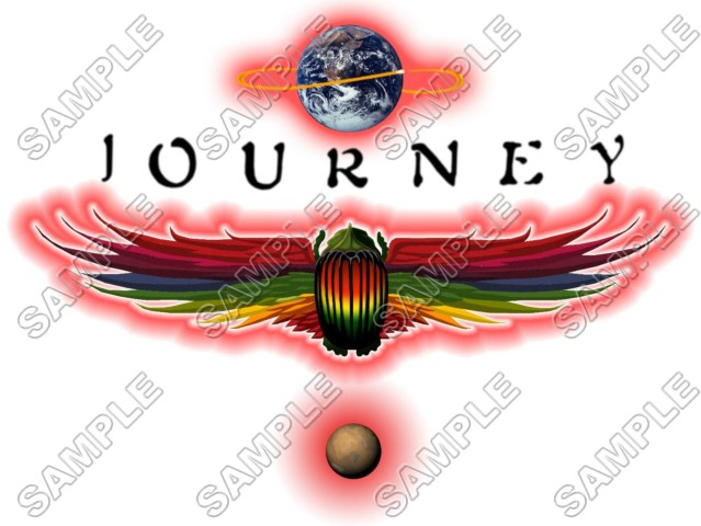 Journey Band T Shirt Iron On Transfer Decal 1