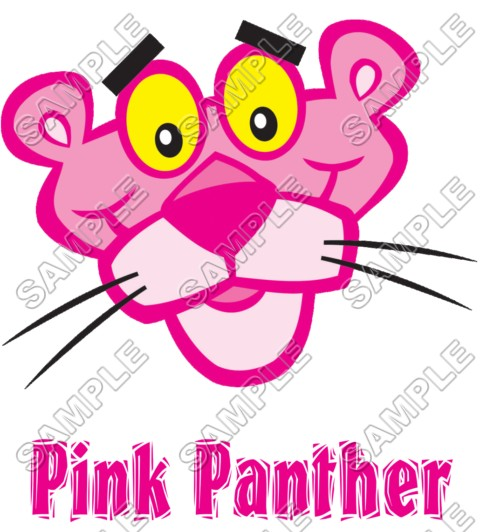 Pink Panther T Shirt Iron On Transfer Decal 5