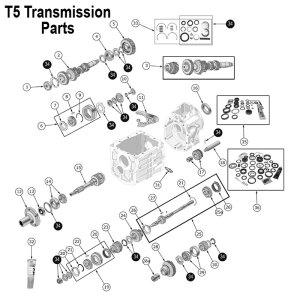 T5 Transmission Cluster Gear | 83500967