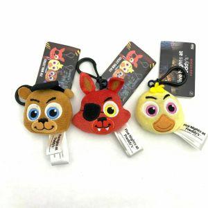 Funko Five Nights At Freddy's Foxy Freddy Chica Plush Keychain Keyring