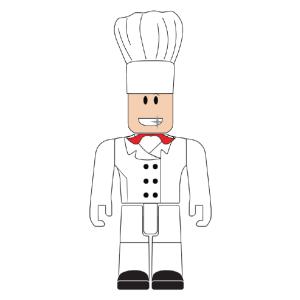 ROBLOX Pizza Chef 3-inch Mini Figure
