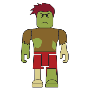 ROBLOX Zombie Rusher 2 3-inch mini Figure