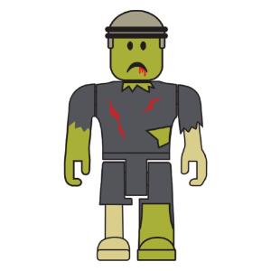 ROBLOX Zombie Rusher 3-inch mini Figure