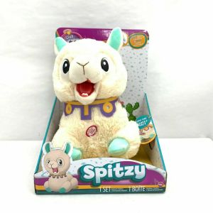 Club Petz, Spitzy The Funny Llama, Interactive Plush Toy, Cream NEW