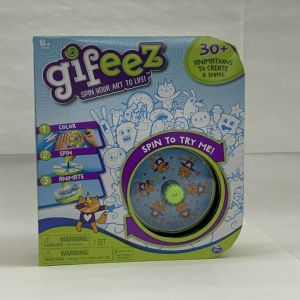 GIFEEZ SPIN YOUR ART TO LIFE! 30+ ANIMATIONS TO CREATE BY SPIN MASTER