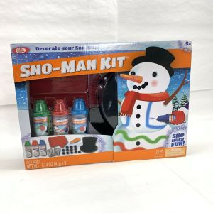 Ultimate Sno Fun Sno-Man Kit Snow Man Making Kit 21 Piece Ages 5+ Kids Toys New