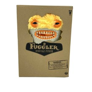 "Fuggler 12"" Funny Ugly Monster ""AWKWARD BEAR"" Yellow Fur New Unopened"