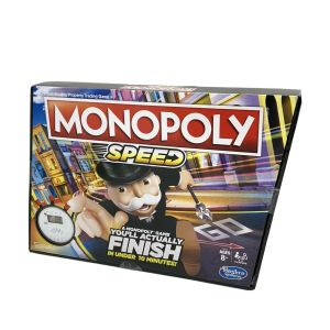 Monopoly Speed Board Game For Kids – Fast 10 Minute Games