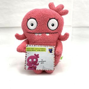 "Sincerely Ugly Dolls Yours Truly, Moxy 9"" Plush Pink Uglydoll New Hasbro"