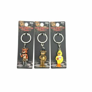 3 Pack – Five Nights at Freddy's Key Chains – Foxy Freddy Chica