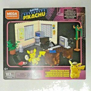 Mega Construx Pokemon Detective Pikachu Movie Pikachu's Office Buildable Set NEW