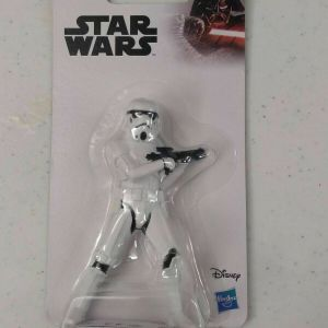 "StormTrooper Disney Star Wars Hasbro Toy Figure 4"", NEW 2019 w/ blaster"