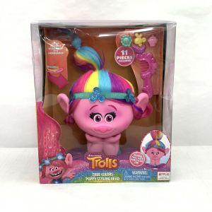 Trolls True Colors Poppy Styling Head,  hair dressing DreamWorks
