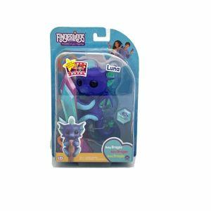 WowWee Fingerlings Interactive Baby Dragon Toy, Purple Luna